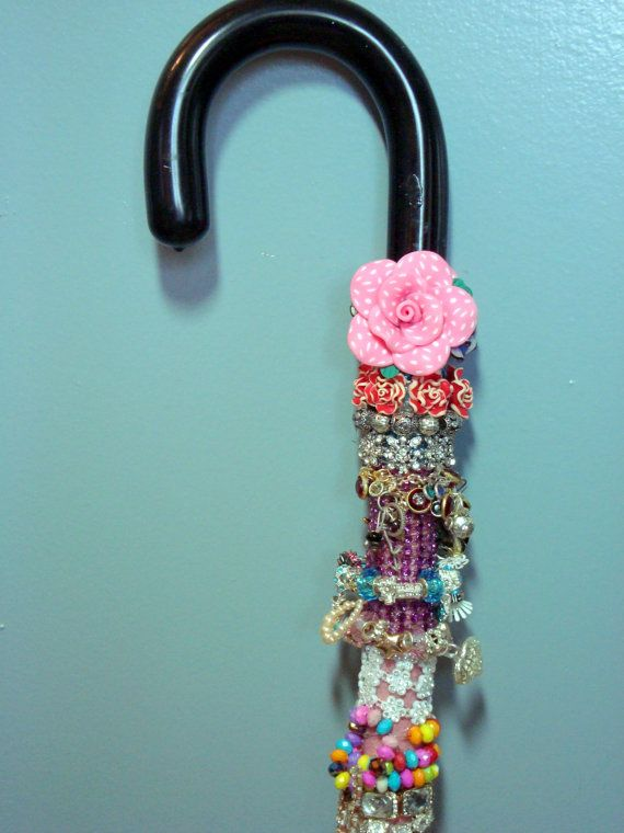 Fall Sale Decorative Beaded Cane And Walking Stick My40 Decorated Simple Decorated Canes