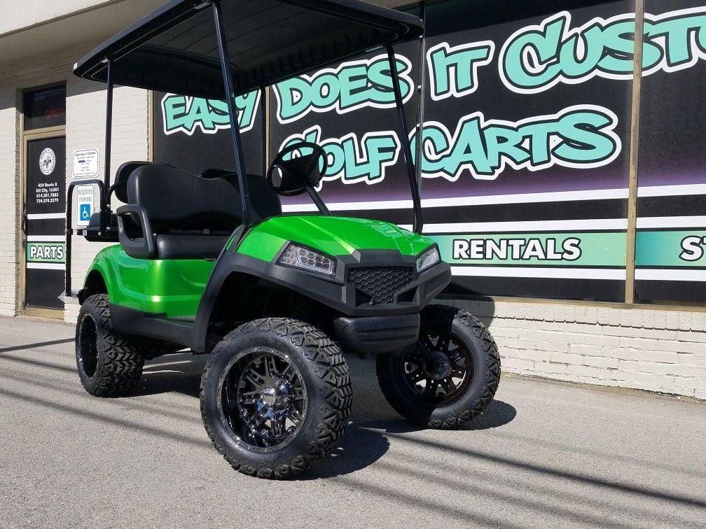 Yamaha Drive Golf Cart with Havoc | Custom Golf Cart ... on