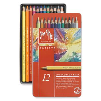 Caran Dache Supracolor Soft Aquarelle Pencils And Sets