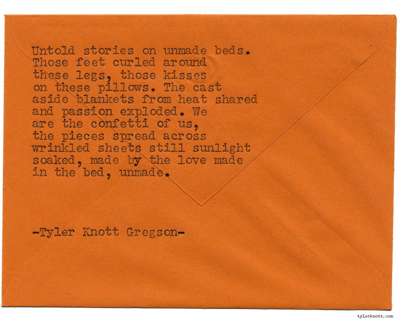Typewriter Series 1272 By Tyler Knott Gregson Pre Order My New