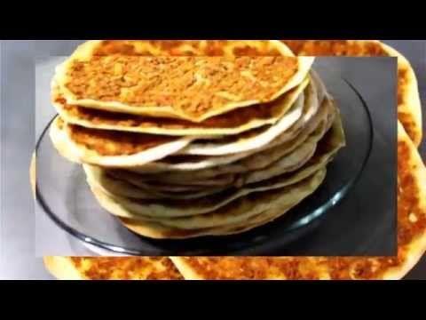 اللحم بعجين بمكونات شهية Meat Dough Lebanese Lahm B3ageen Youtube Food Middle Eastern Recipes Arabic Food