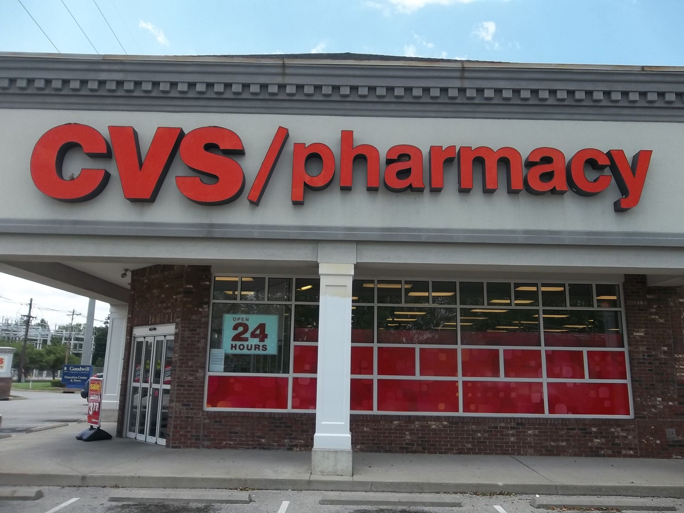 CvsPharmacy Channel Letter Sign Cvs Outdoorsigns