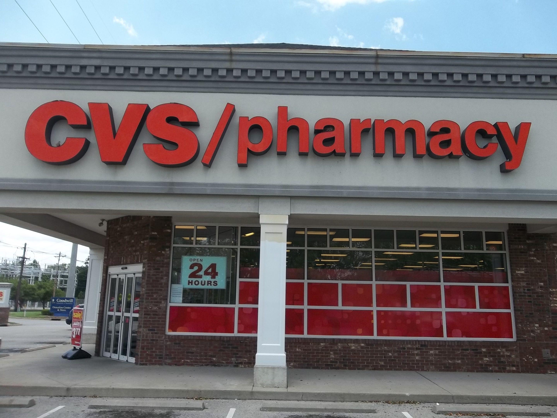 CVS/pharmacy channel letter sign cvs outdoorsigns