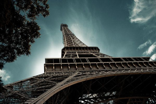 Eiffel tower by redanksdesign (print image)