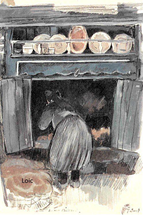 burel, cheminée à ouessant