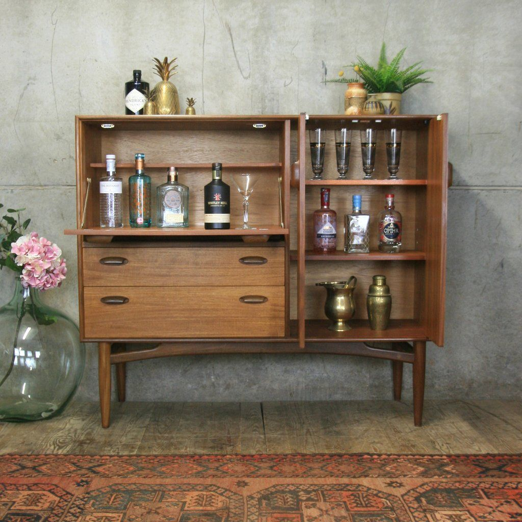 Rare G Plan Teak Drinks Cabinet 1810 Modern Drinks Cabinet Drinks Cabinet Modern Bar Cabinet