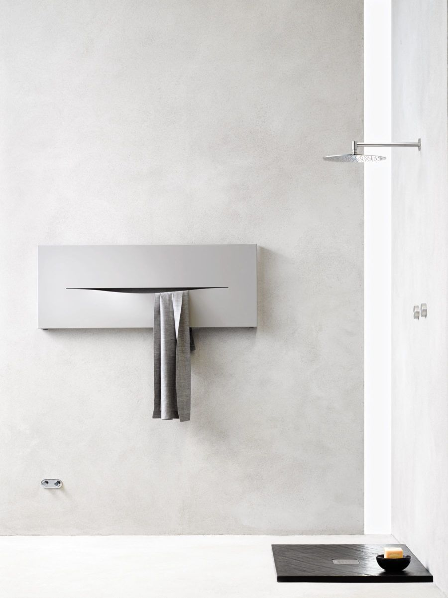 radiateur mural horizontal cut by caleido mobilier de salle de bain ...