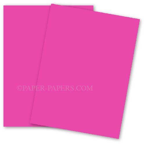 Astrobrights 11x17 Card Stock Paper Fireball Fuchsia 65lb Cover 1000 Pk In 2020 Cardstock Paper Cover Paper Paper