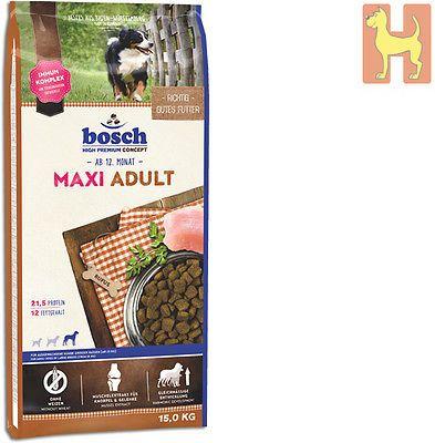 15 Kg Bosch Adult Maxi Hundefutter Fur Alle Ausgewachsenen Hunde Grosser Rassensparen25 Com Sparen25 De Spare Hunde Futter Hundefutter Premium Hundefutter