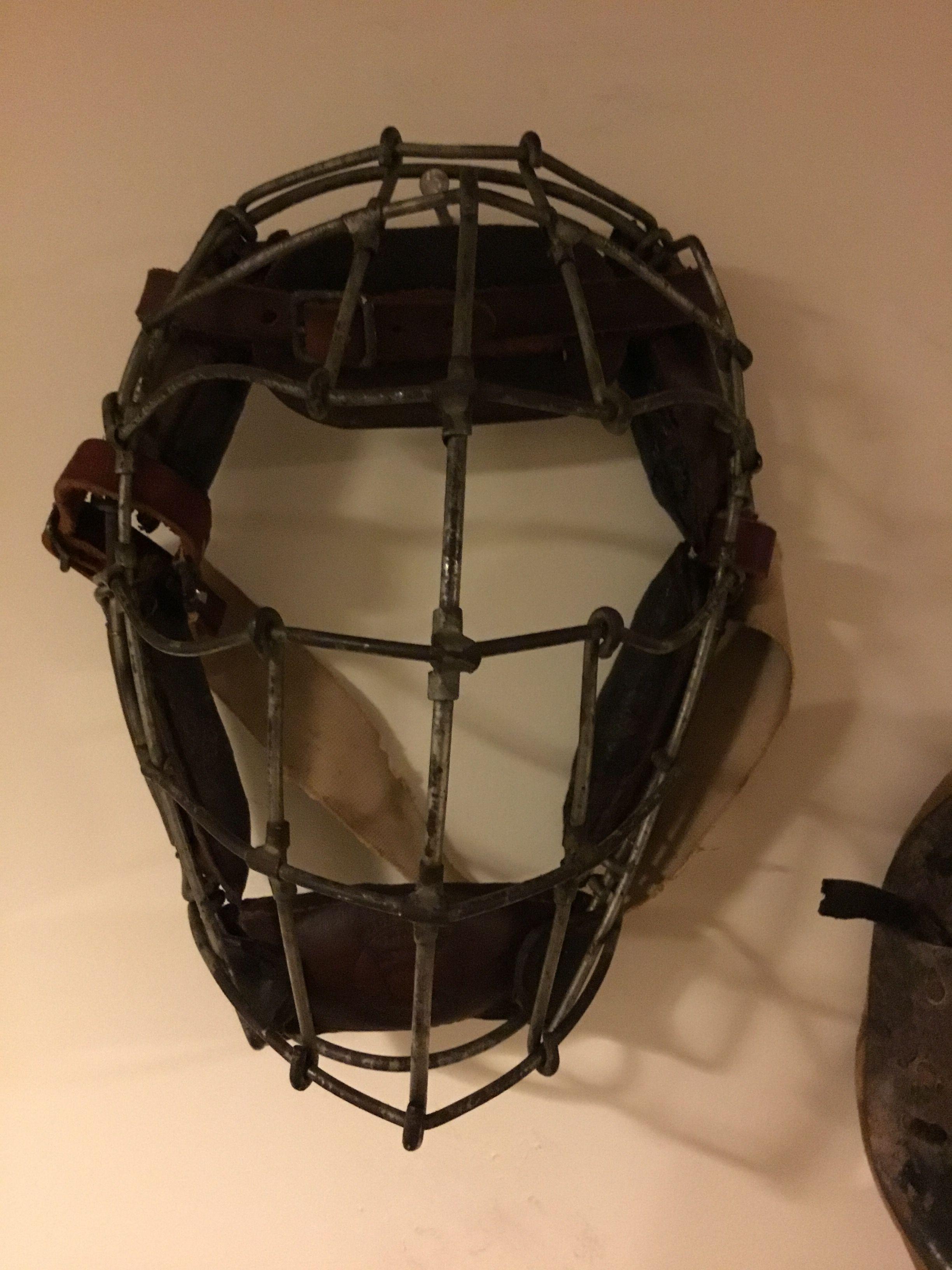 Antique Vintage Pre Weld 1890s Bird Cage Baseball Catchers Mask