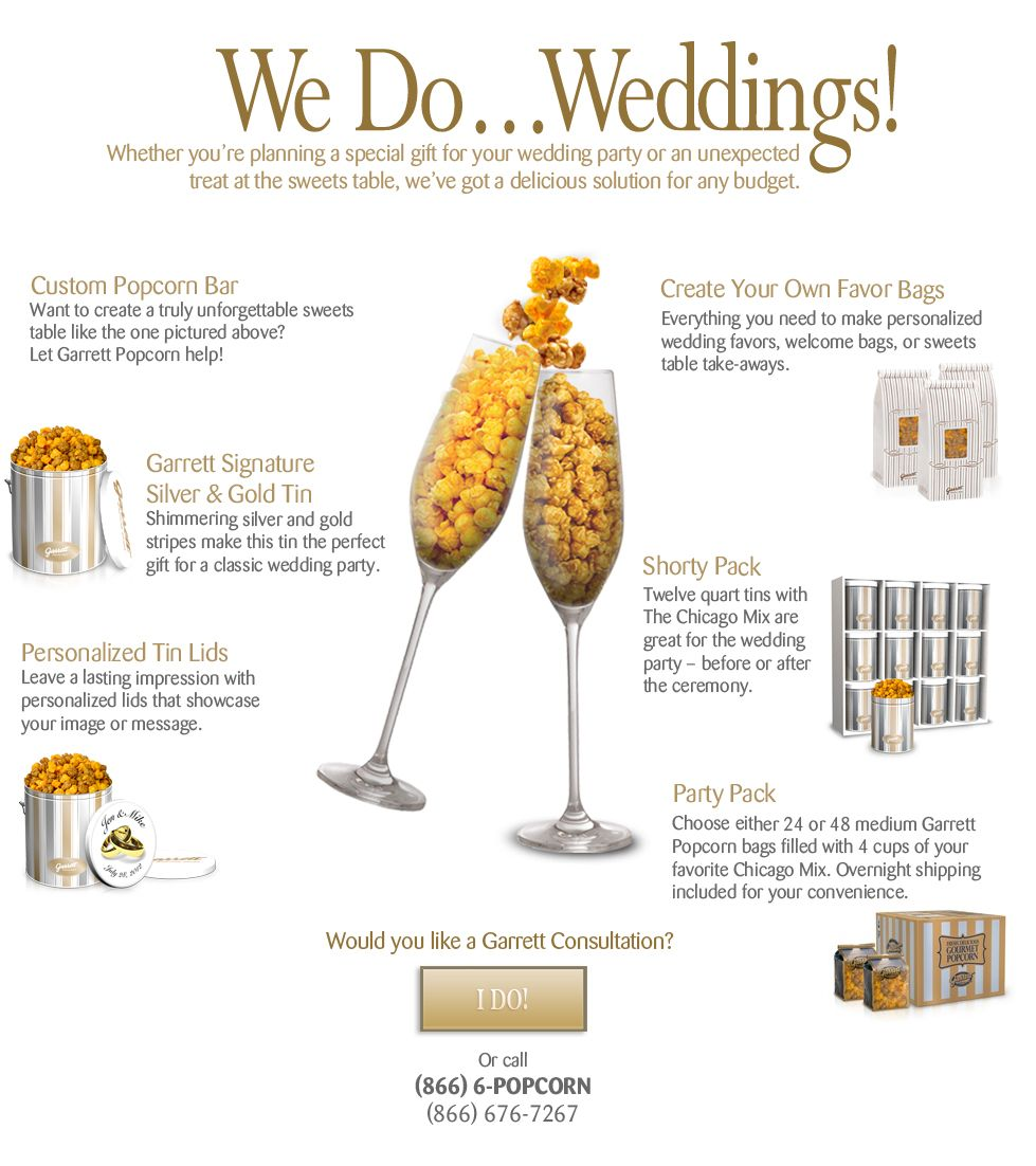 We do Weddings! Find out more about our Wedding and Party options ...