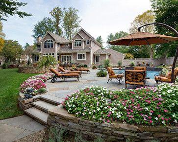 Outdoor Retreat - traditional - patio - new york ...