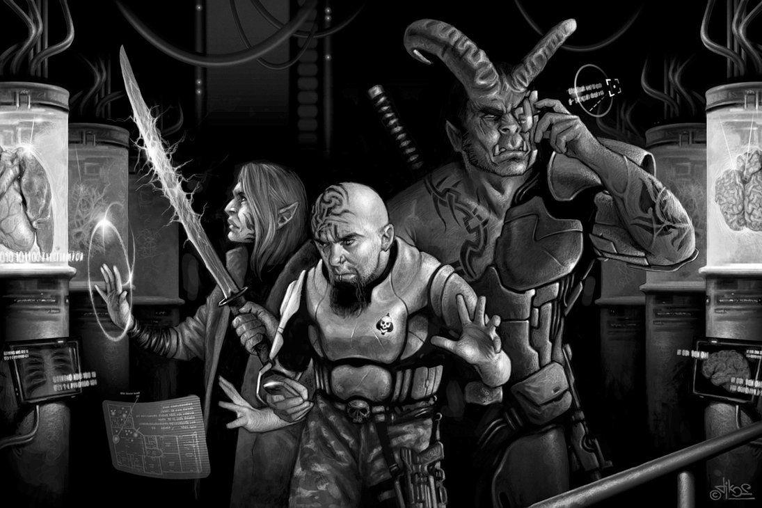 Universal Omnitech by tikos on DeviantArt | Cyberpunk ...