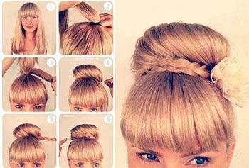 Amazing 1000 Images About Hair On Pinterest Hairstyle Tutorials Braids Hairstyles For Women Draintrainus