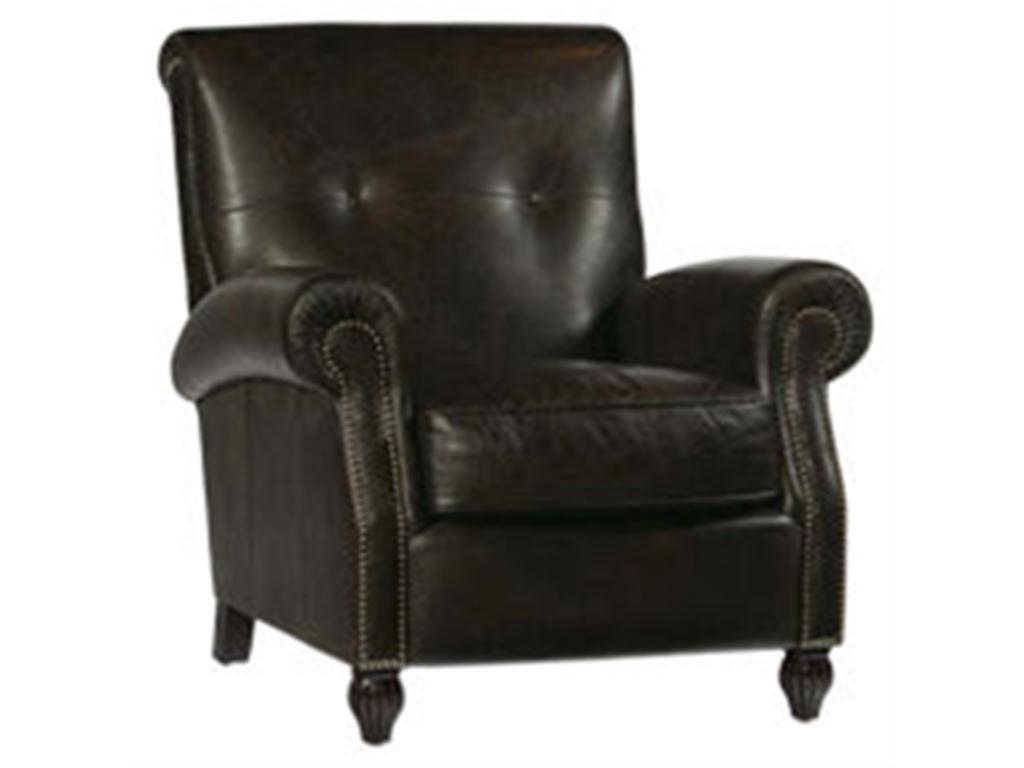 bernhardt brown leather club chair wedding cover hire luton living room hughes 1803lo greenbaum home furnishings bellevue wa