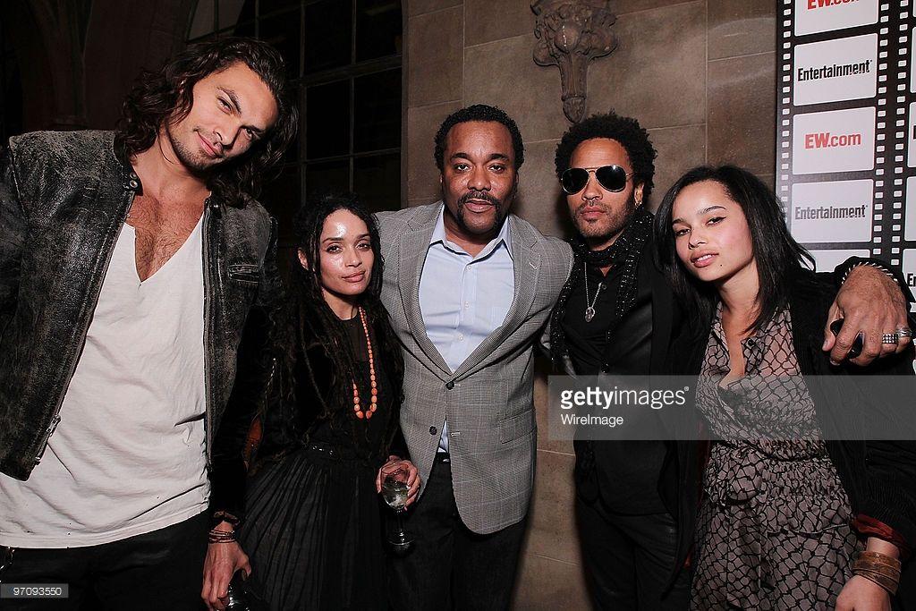 Zoe Kravitz On Jason Momoa: Jason Momoa, Lisa Bonet, Lee Daniels, Lenny Kravitz And