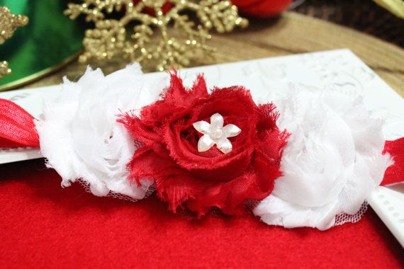 Adorable Holiday Headband for babies by LittleLuxuriesBoutiq, $9.99