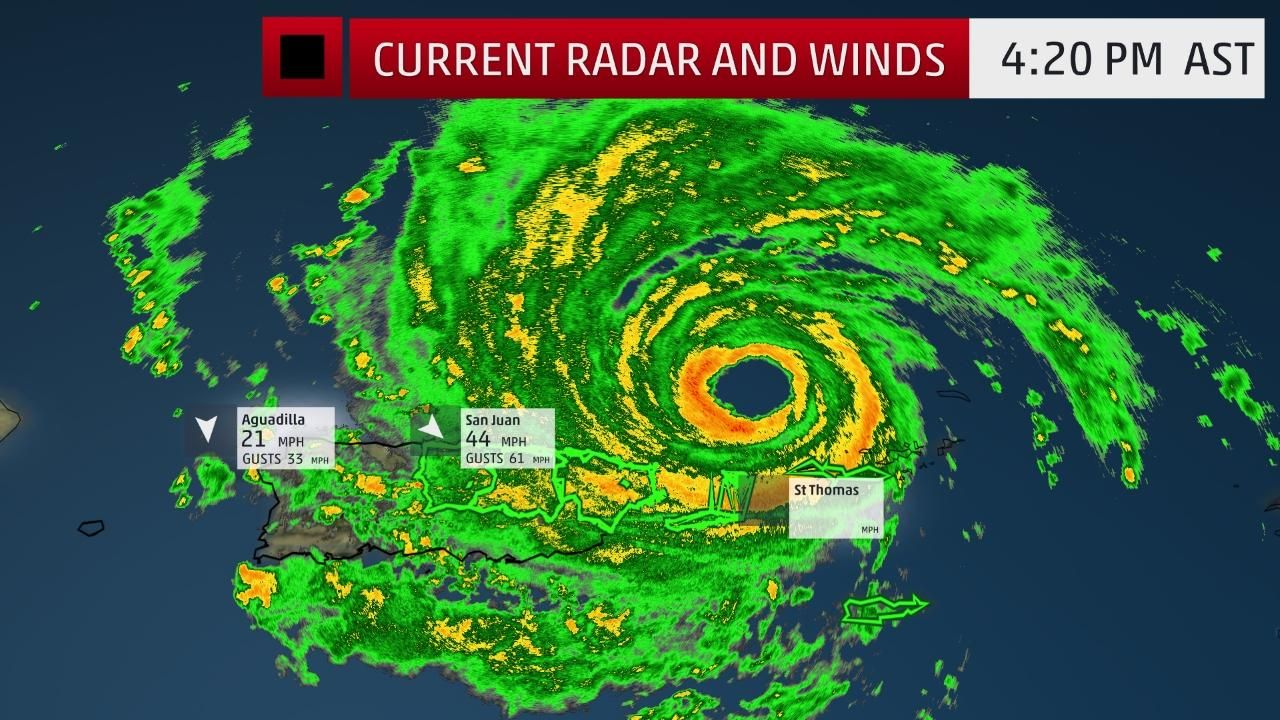 Hurricane Irma On Its Way To The Bahamas As A Potentially Catastrophic Category 5 Hurricane Hurricane Watches