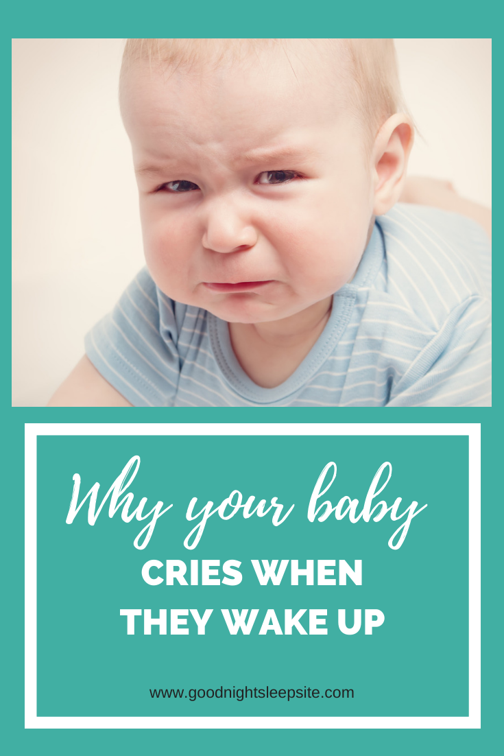 Why Your Baby Cries When They Wake Up in 2020   Help baby ...