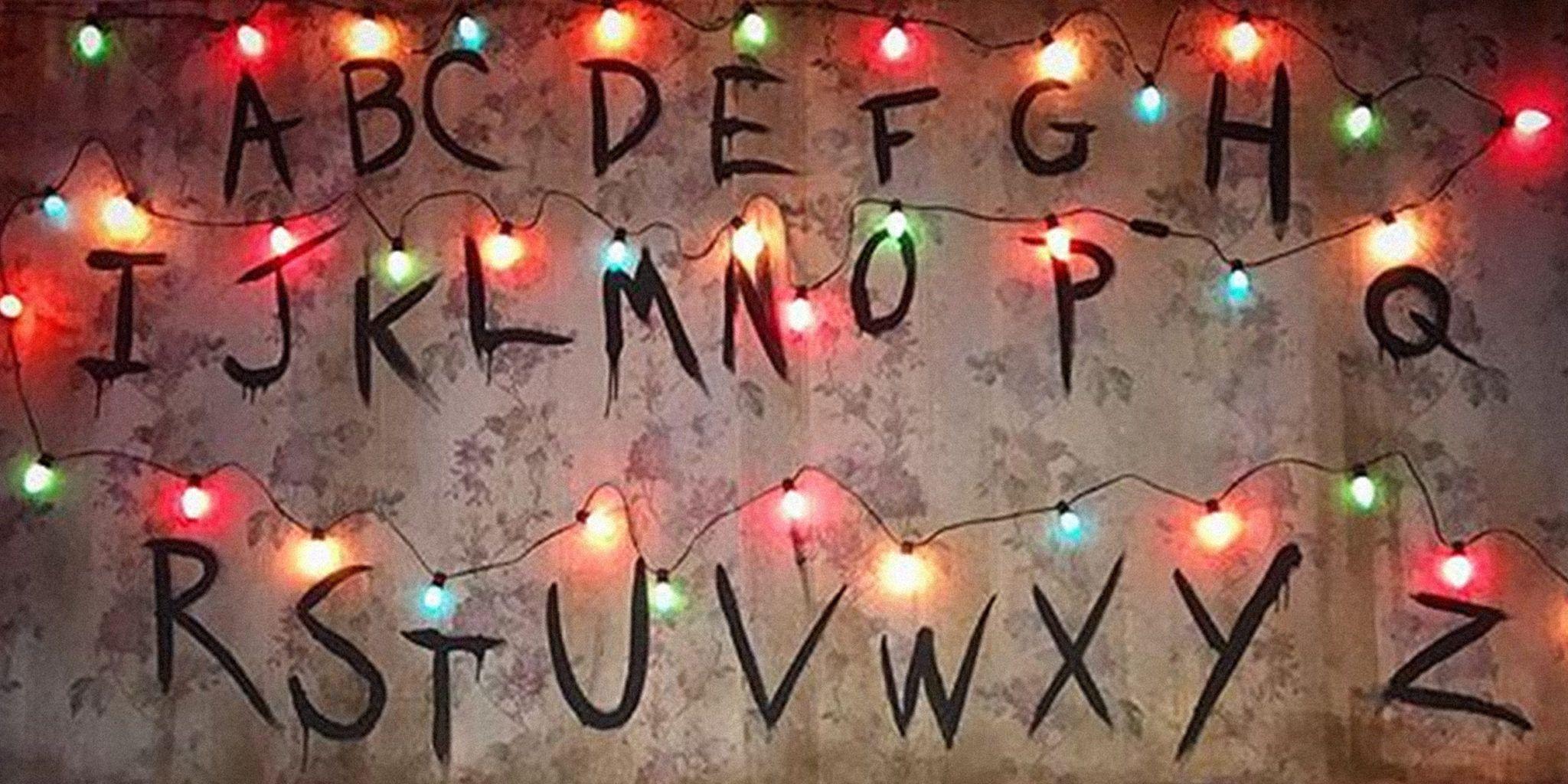 Résultats de recherche d'images pour « stranger things lights » | Cuadros,  Hogar