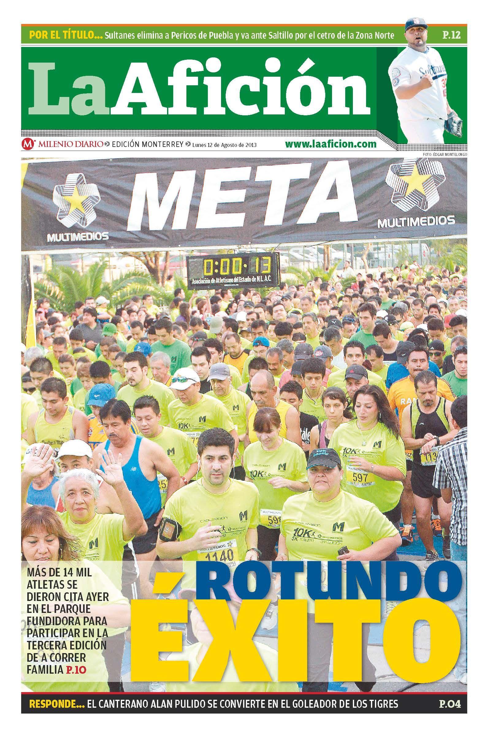 """#PORTADA #LAAFICIÓN """"Rotundo éxito"""""""