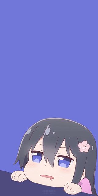 Hana Shirosaki - Watashi ni Tenshi ga Maiorita! Wallpaper