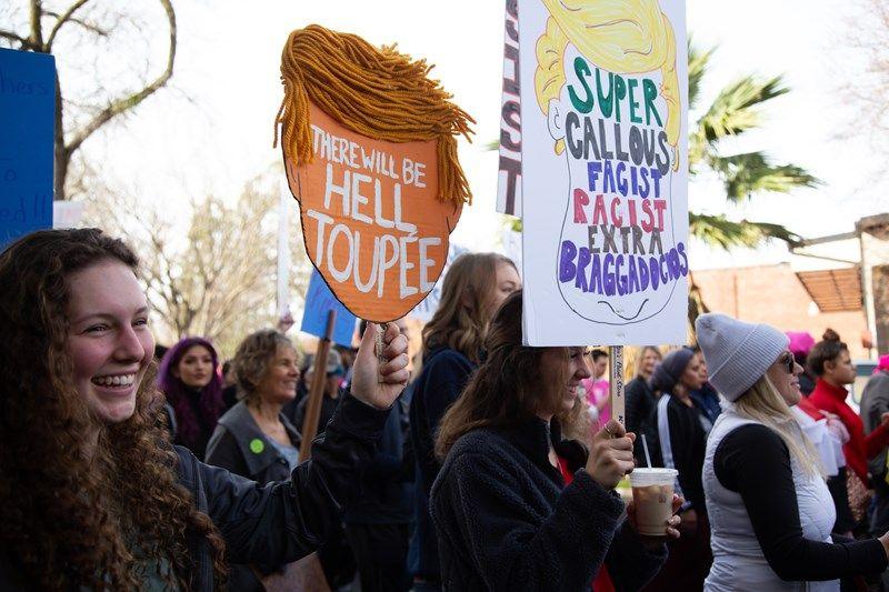 Sacramento Women S March Draws Thousands To California S Capitol Capradio Org Sacramento Women Womens March
