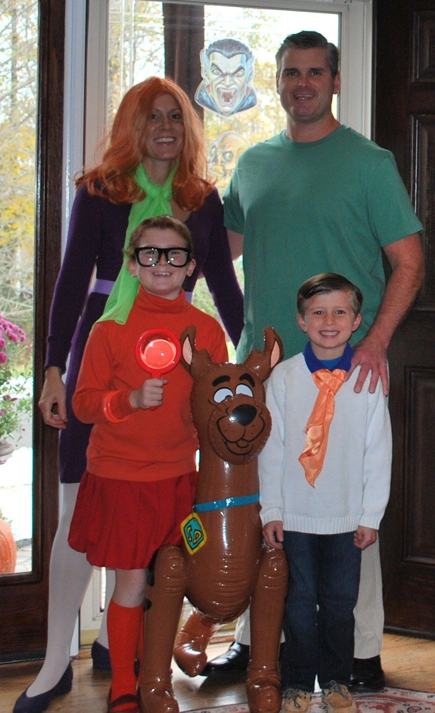 costume Nudist family halloween