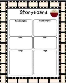 Storyboard For A Digital Storytelling Project  Classroom