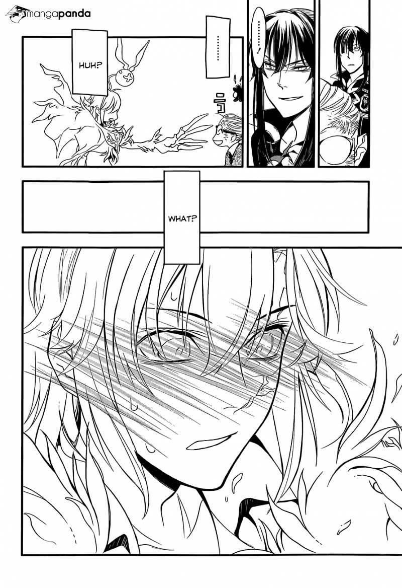 D. Gray Man: Allen blushes