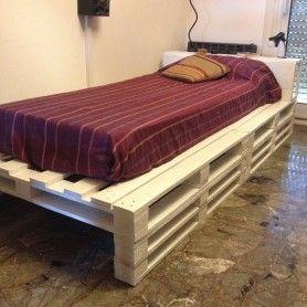 camas con palet individuales buscar con google