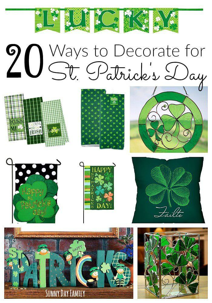 20 St Patrick S Day Decorating Ideas Fun Themed Accessories For Your Home And Garden Plus Super Cute Party