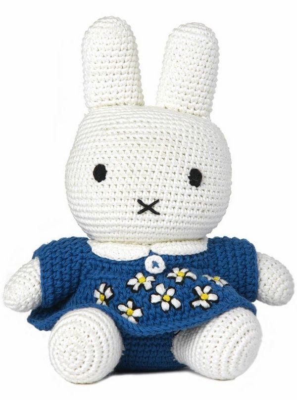Miffy! #crochet #toys #rabbits #lapins #jouets #haak #