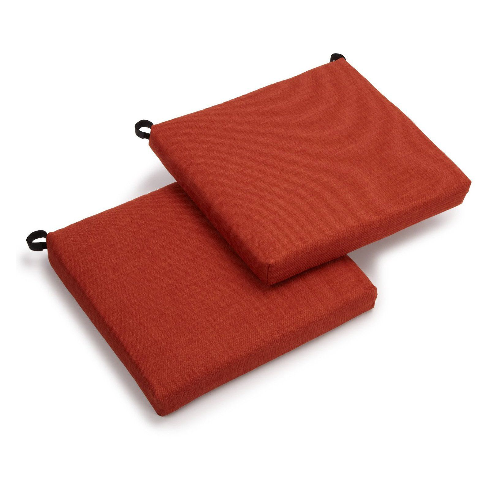 Outdoor Chair Cushions   Set Of 2   93454 2CH REO SOL 02