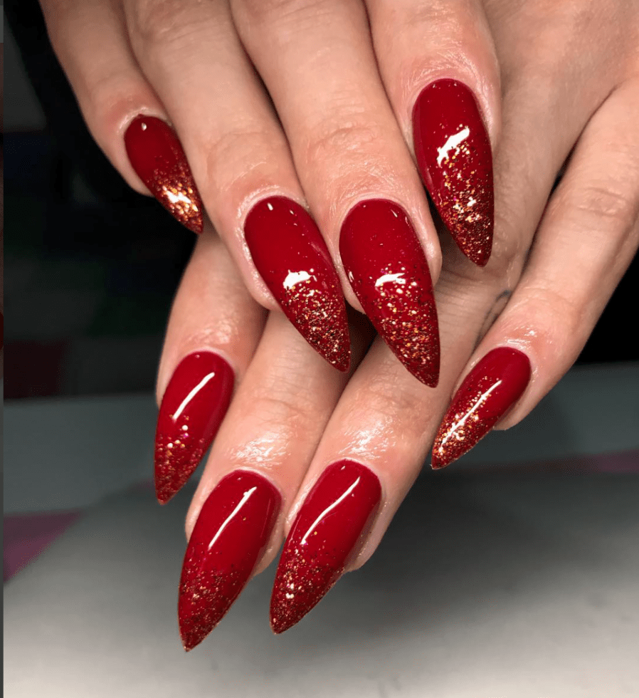Striking Red Nails Designs for all Types of Women