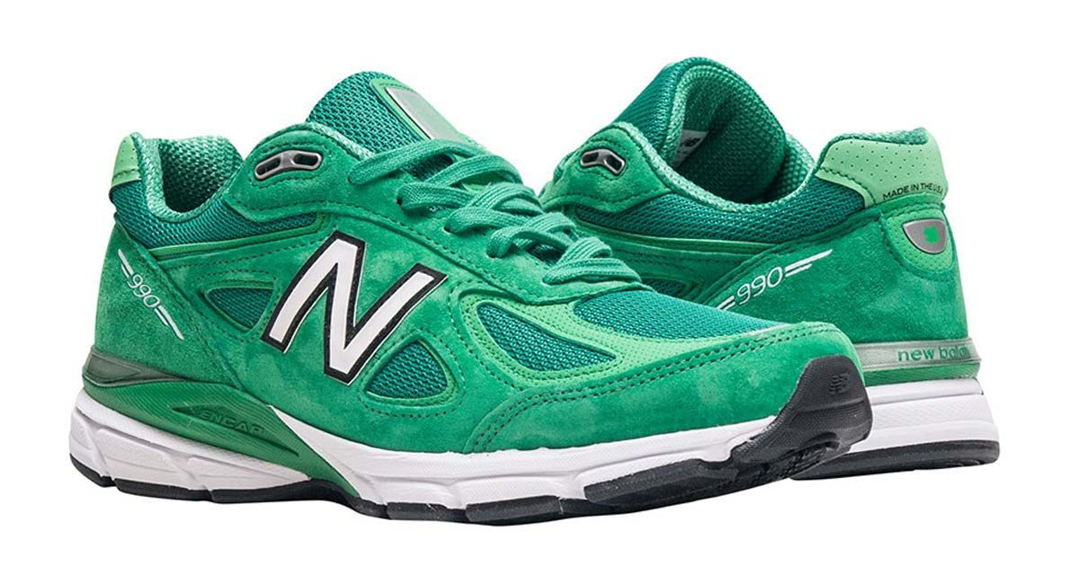 sports shoes 2fcc6 3c4f7 New Balance 990 Green Just $140 on Jimmy Jazz (Retail $175 ...