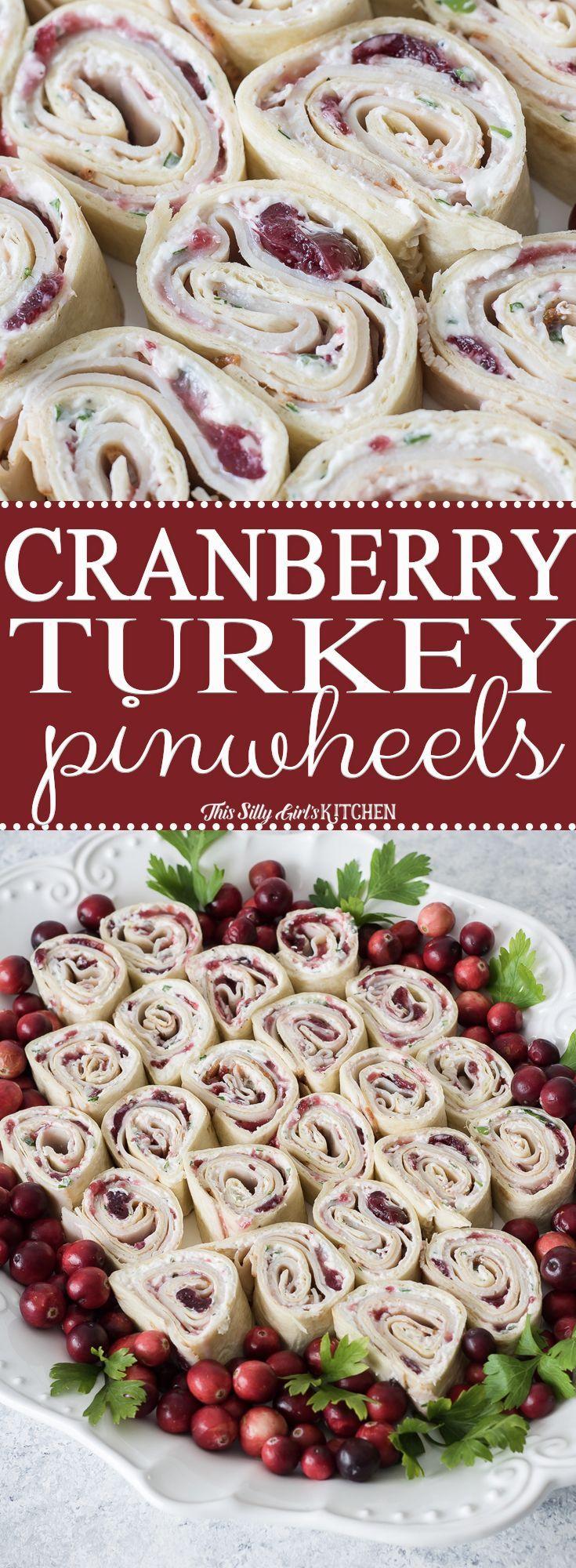 Turkey Pinwheels Recipe - This Silly Girl's Kitchen