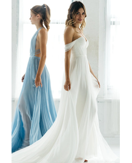 Picture Bridal gowns, Modern wedding gown, Modern