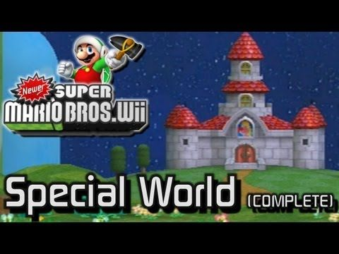 newer super mario bros wii world 8