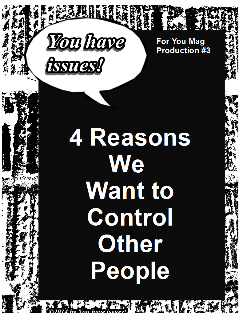 dealing with control issues