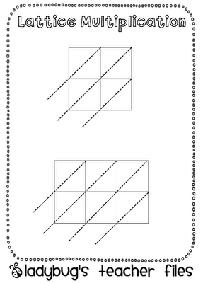Download a set of lattice multiplication forms for problems of ...
