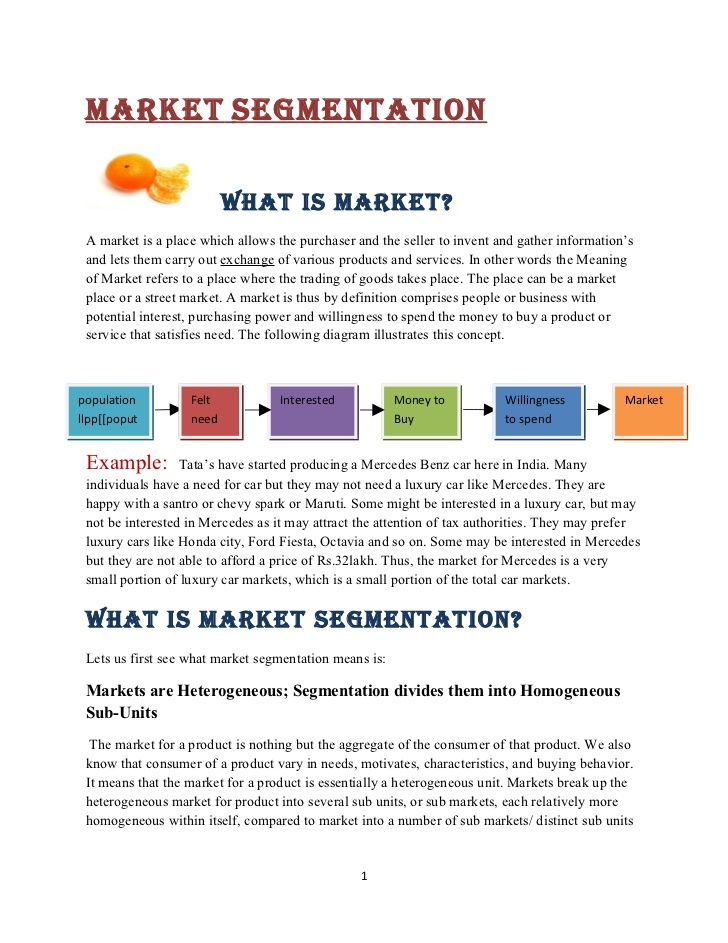 Segment Market Segmentation Pinterest Market segmentation - marketing report