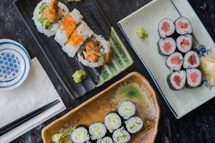 Maneki Sushi Restaurant Seattle Wa Washington