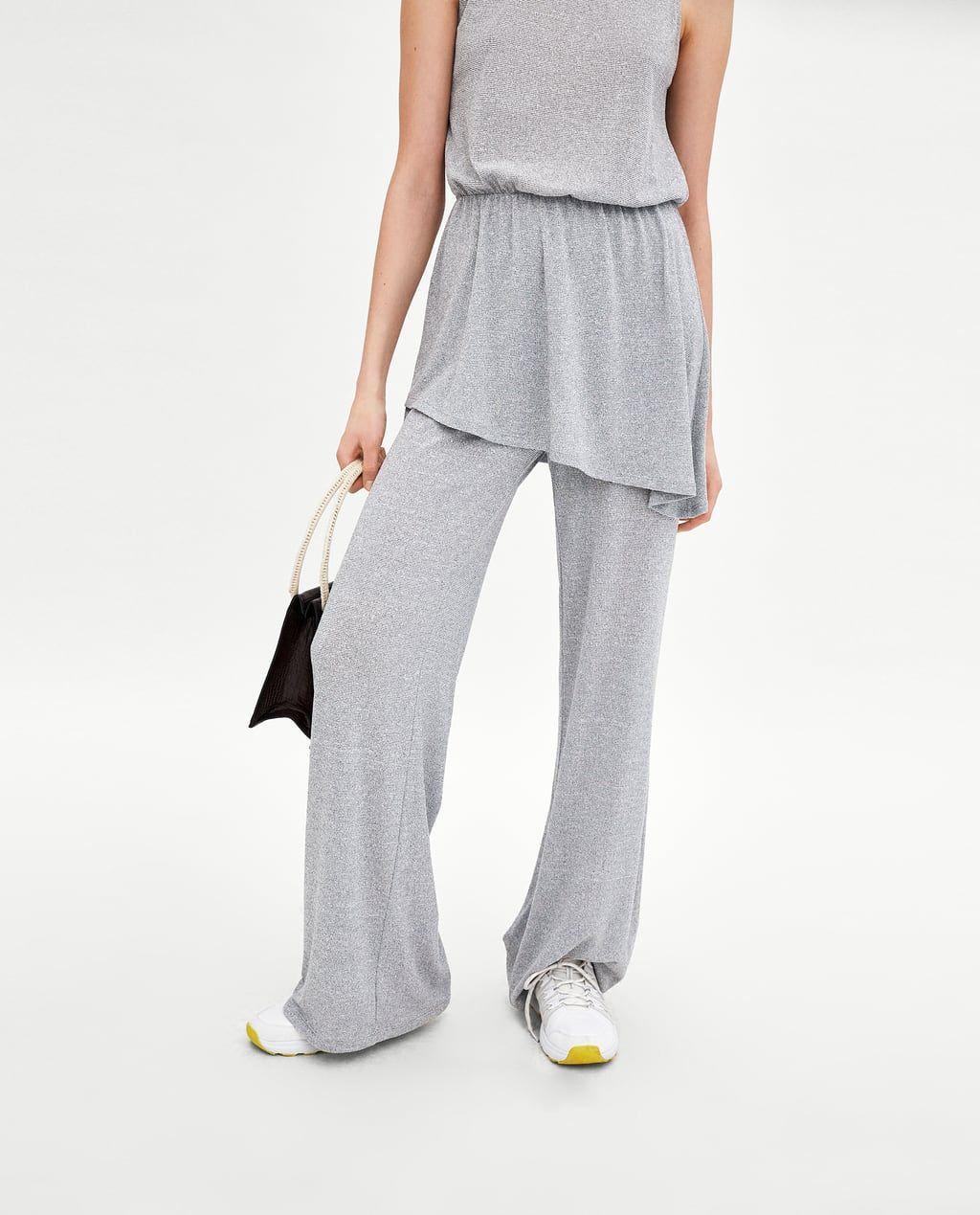 Imagen Zara 3 18e Trousers Fluido Ss18 De Pantalón TqSdpw 32443e0714cb
