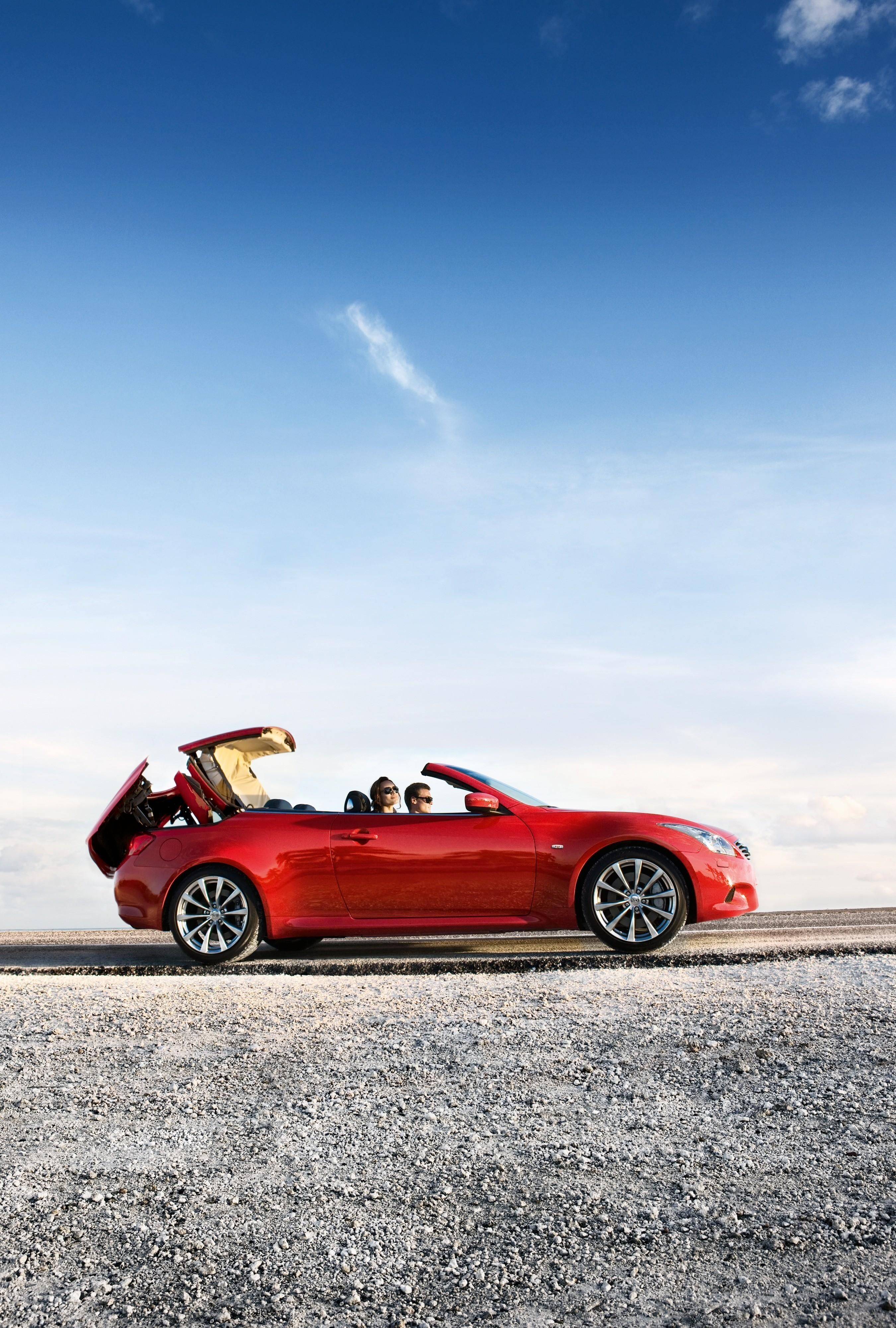 convertibles changes something infiniti about infinity est the thanks cars embargoed convertible to no unless until truth says