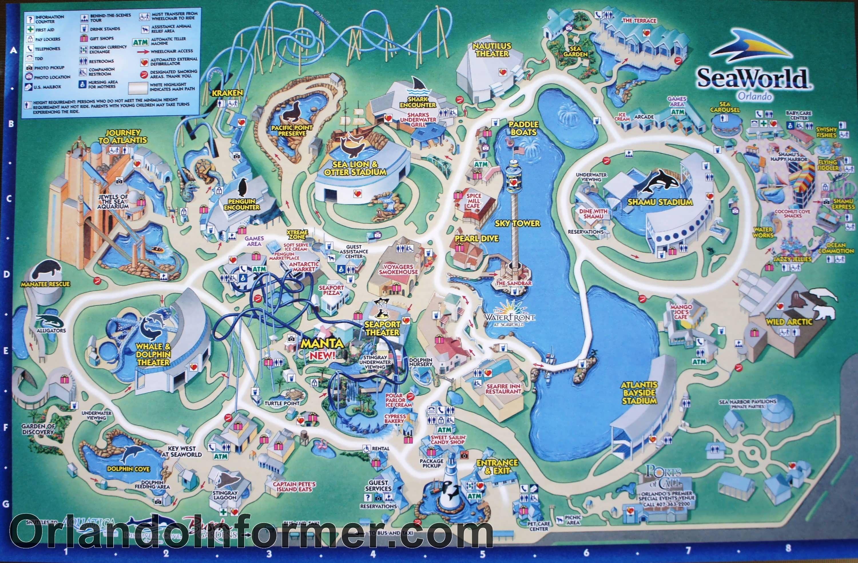 Seaworld Orlando Park Map Printable SeaWorld Map | Scenes from SeaWorld Orlando 2011   photo