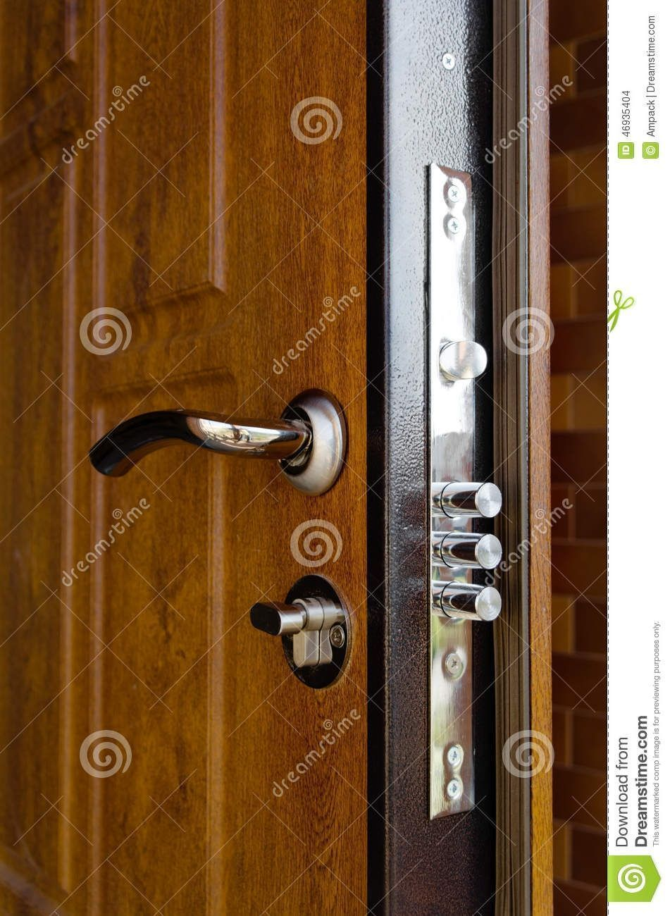 Exterior Security Door Hardware Wooden Front Doors Security