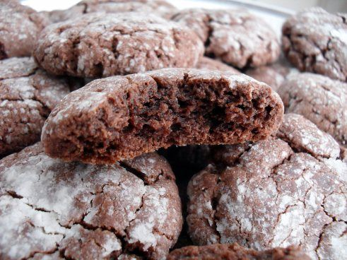 Chocolate Gooey Butter Cookies These Are Delicious Gooey Butter Cookies Cake Mix Cookies Chocolate Cake Mix Cookies