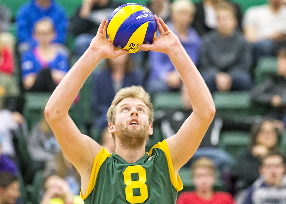 Image Result For Male Volleyball Action Shots Volleyball News Golden Bears University Of Alberta