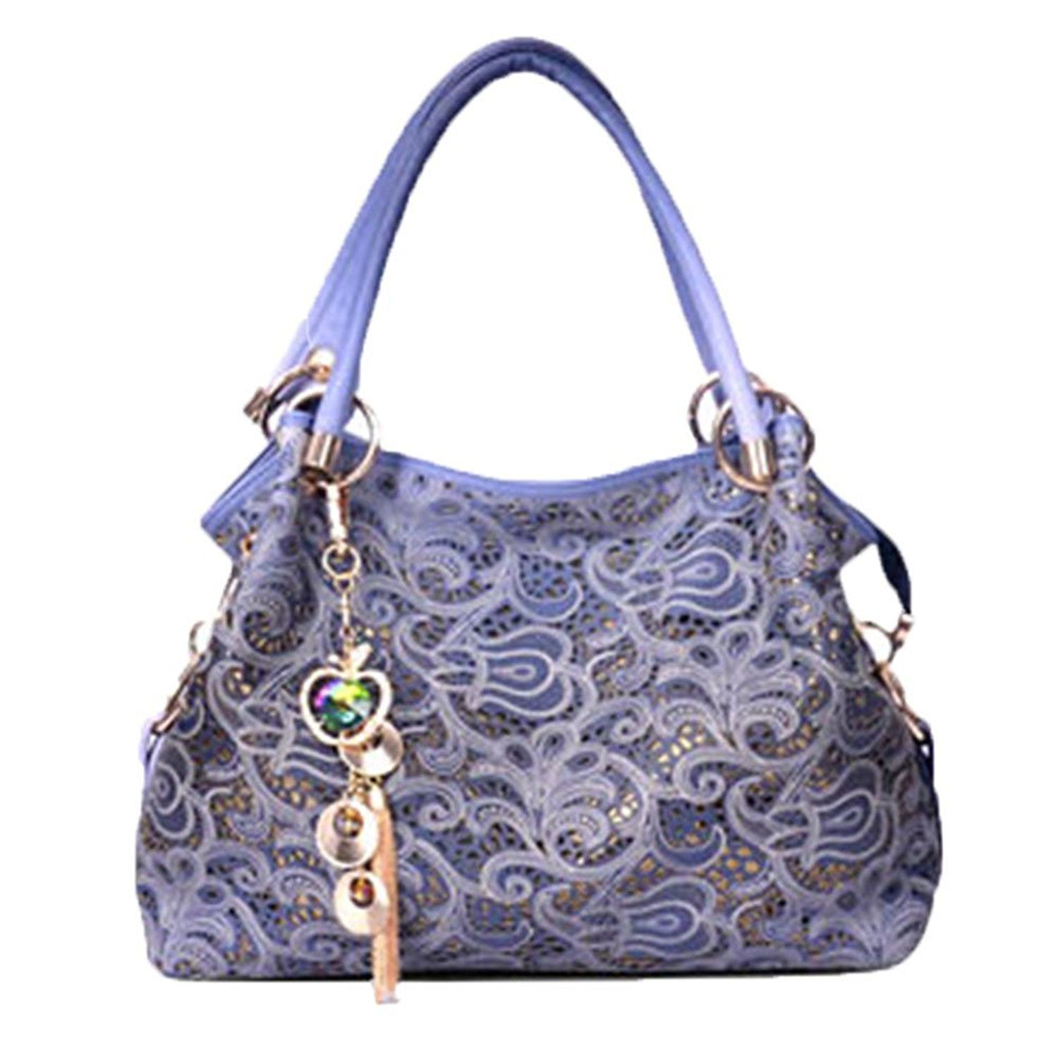 Flada Ladies Leather Hobo Handbags Clearance Tote Bags Purses for Women d4108c108fda2